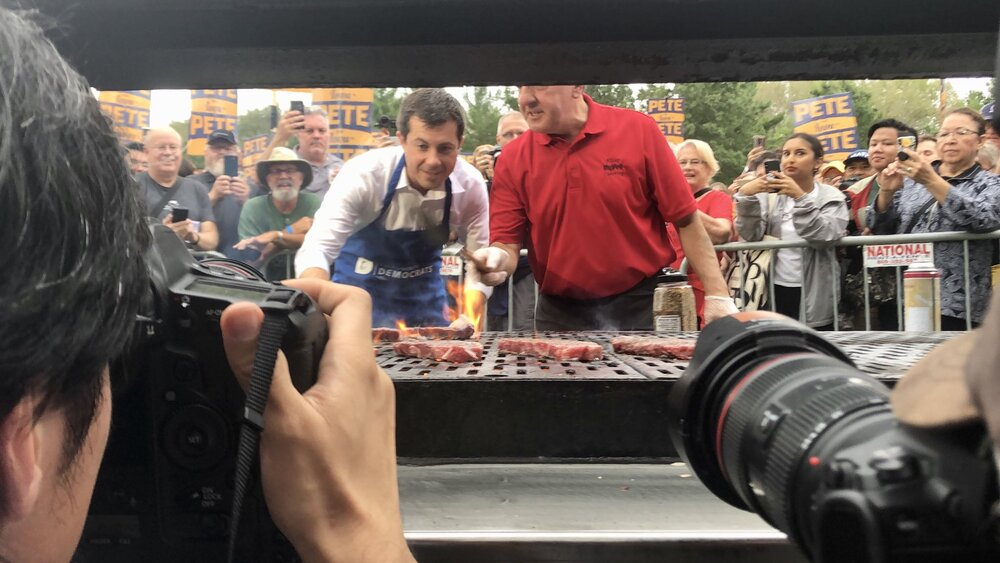 Polk County Steak Fry, Iowa, Sept 21, 2019