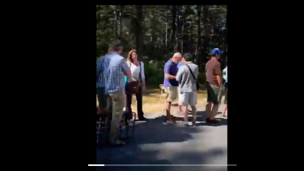 Video of the line at Ossipee. Posted by DJ Judd  (LINK)