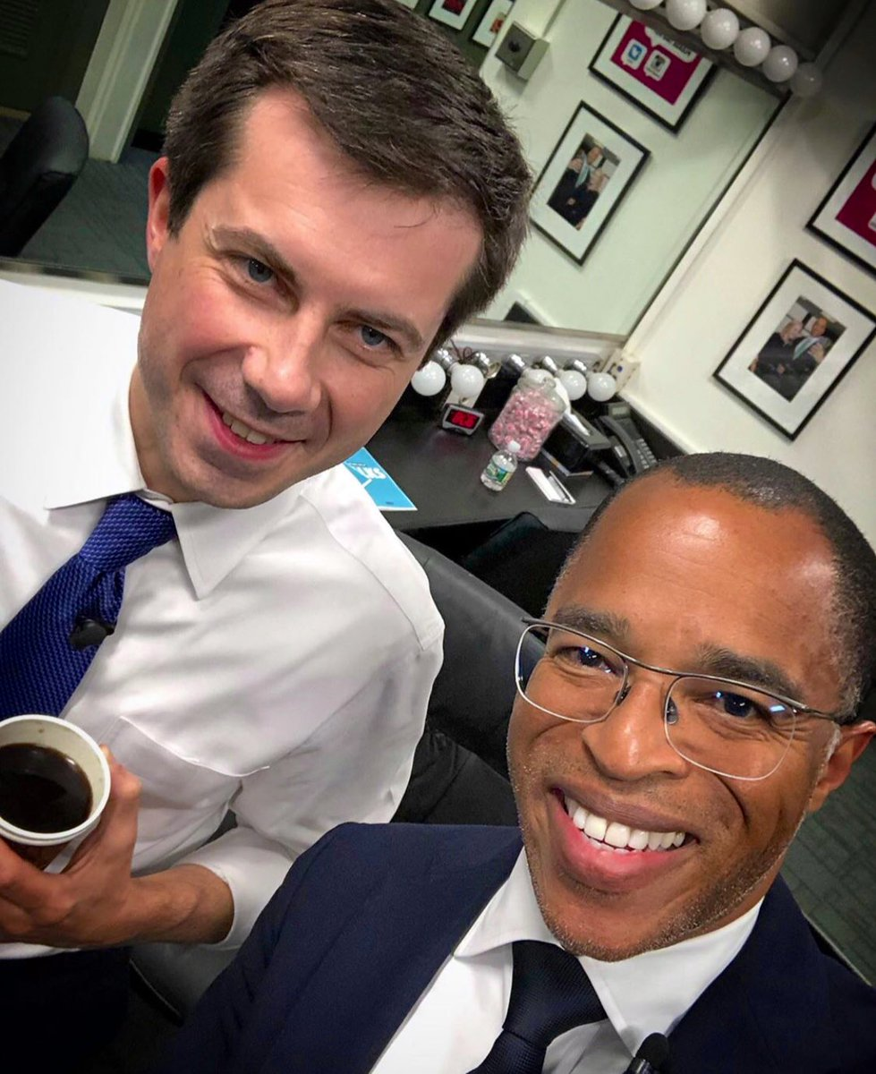 With Jonathan Capehart around their interview on May 22, 2019.
