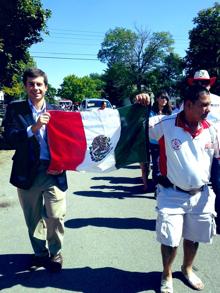 Cinco De Mayo parade South Bend ( Good Guy Pete Twitter)